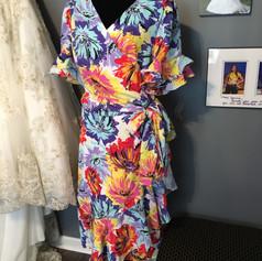 Custom fun dress for Polo match