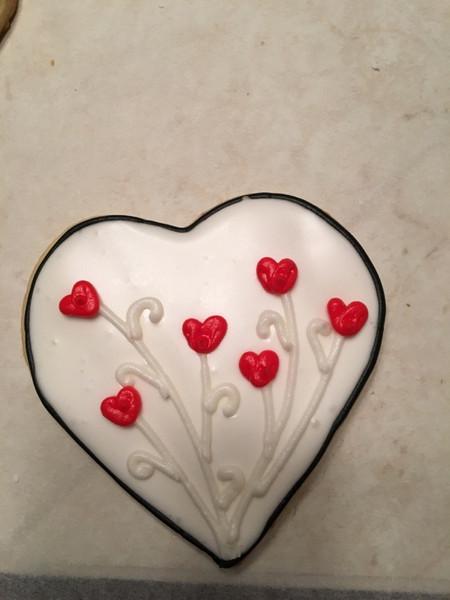 Valentine cookie