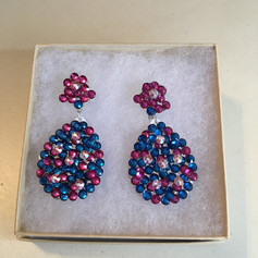 Custom earrings for a custom fun fashion.