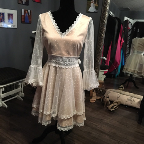 Custom dress for Bridal shower