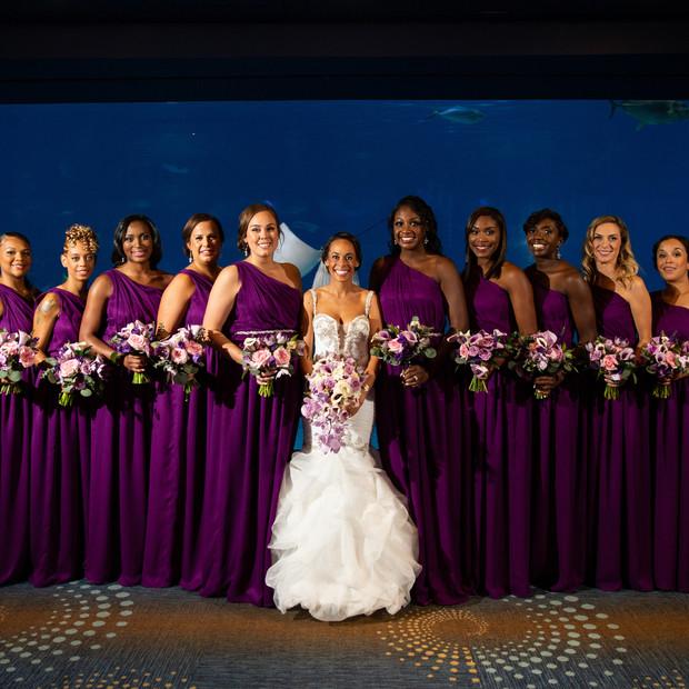 custom silk bridesmaid dresses