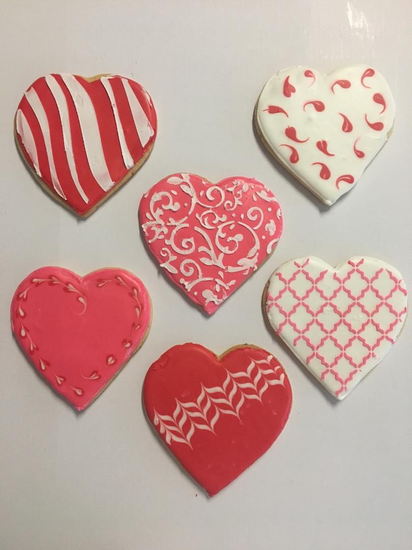 Valentine cookies