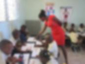 Miss Emmanuella, graduate now teacher.JP