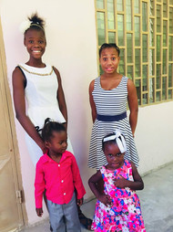 Four kids from Children's Home