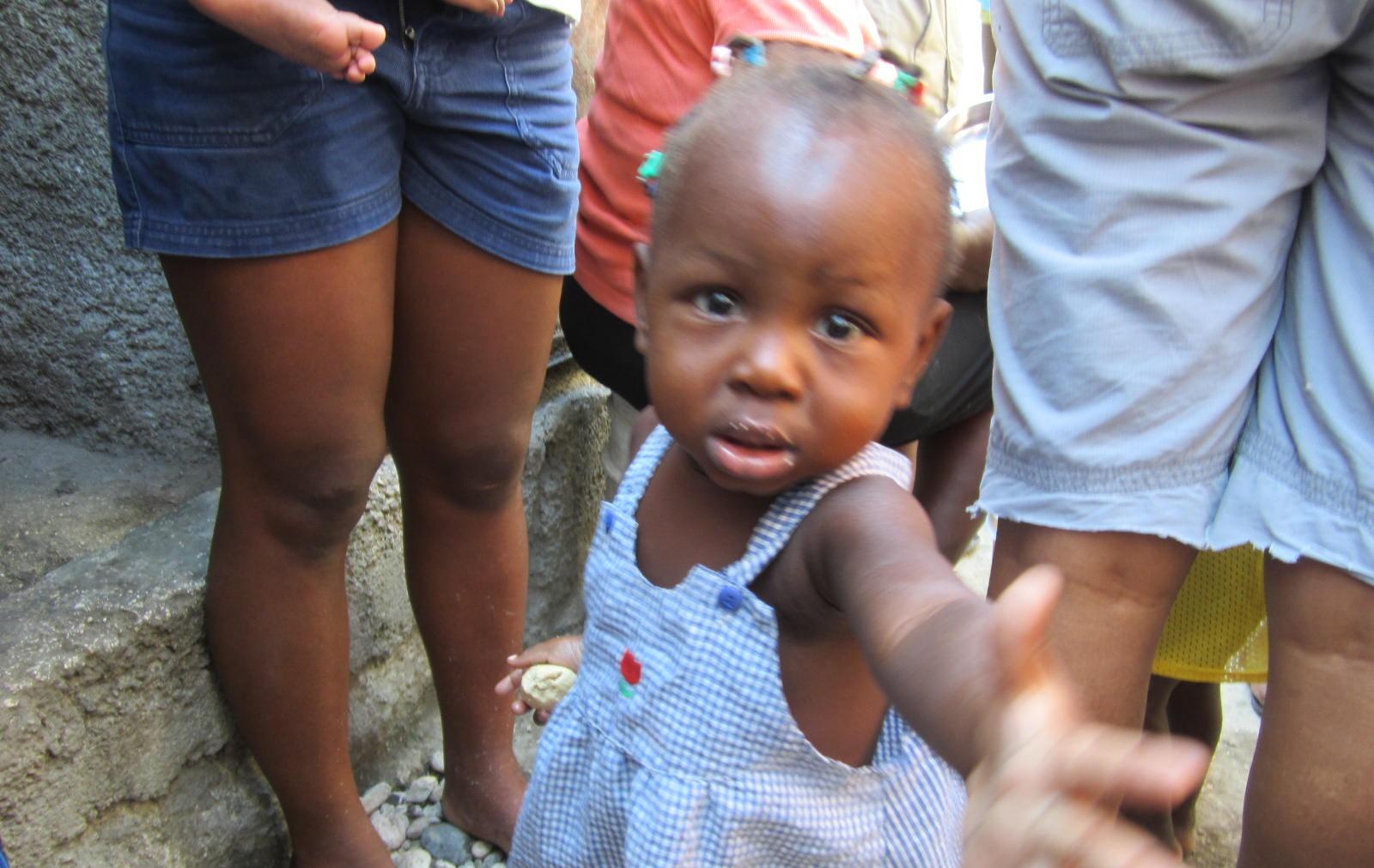 Haitian Toddler girl