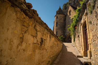 Le pittoresque village de La Roque-Gageac