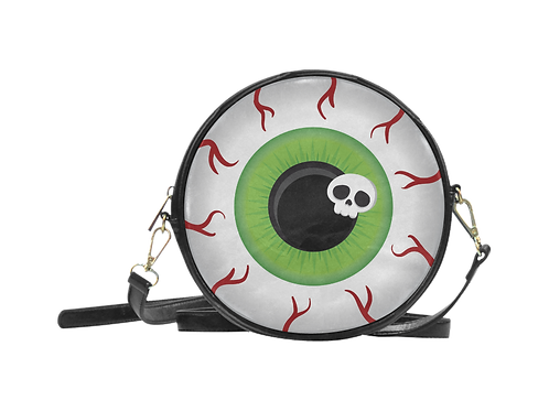 Round Eyeball Sling Bag