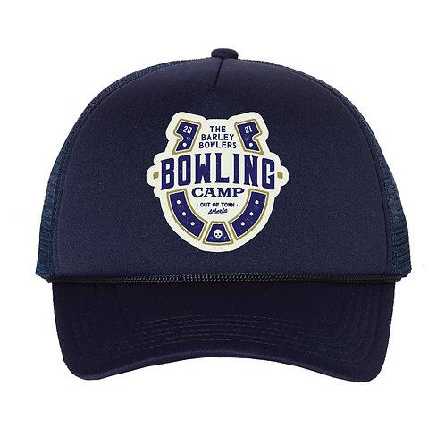 Bowling Camp Foam Trucker Hat