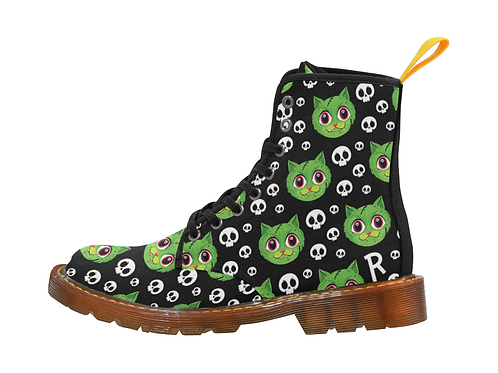 Ladies Zombie Cat Boots