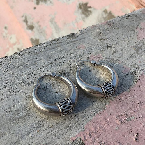 Sterling Silver Earrings from India