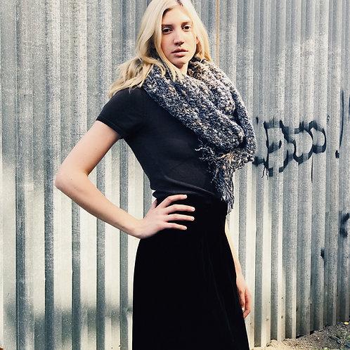 Knit Wrap Scarf