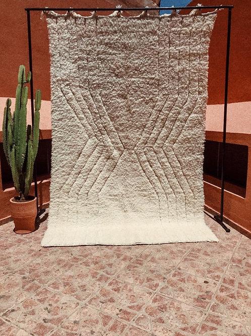 Moroccan Beni Ourain - Sand Clock Carpet