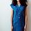 Thumbnail: cobalt linen shift dress