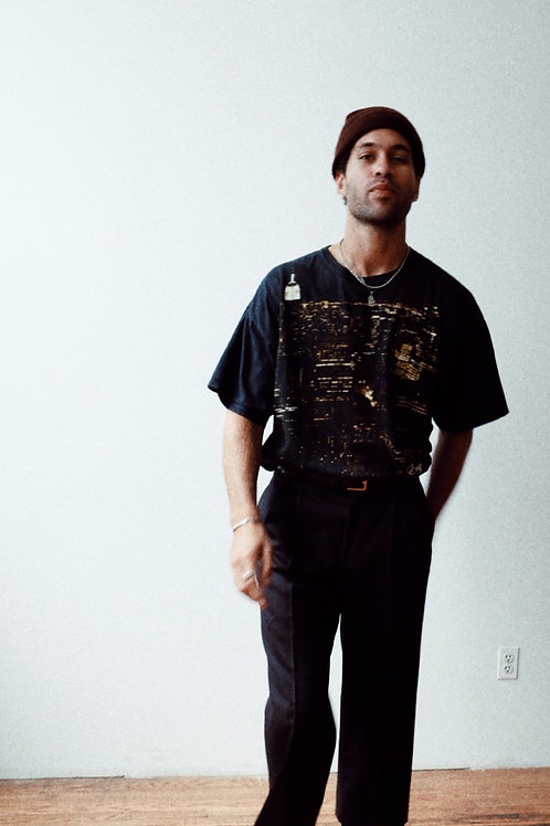 Light-Weight Wool High-Waisted Trousers