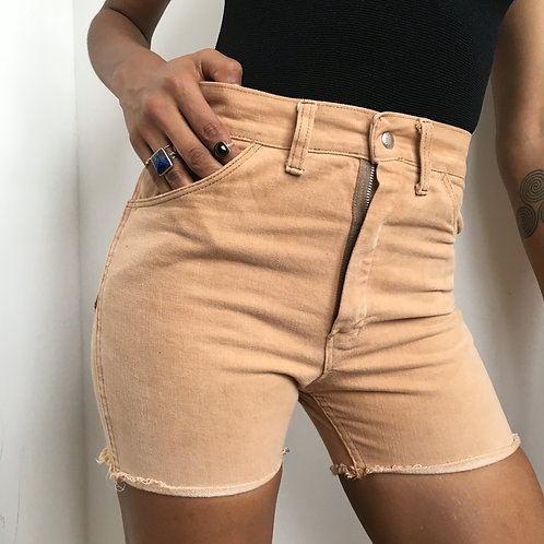 80s Nude Denim Cutoffs