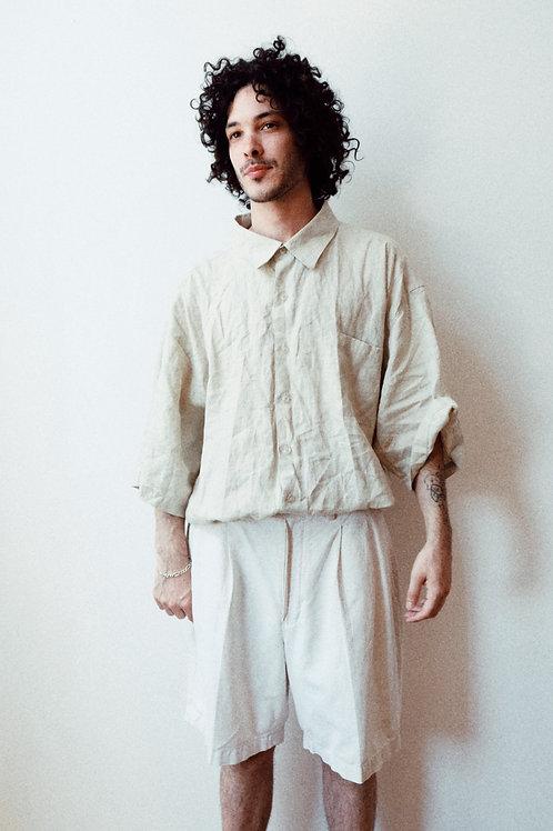 linen oversized shirt