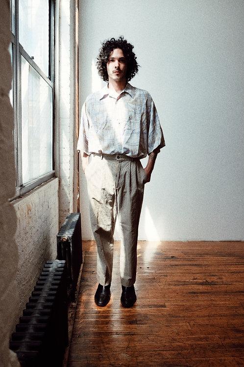 DKNY silk trousers