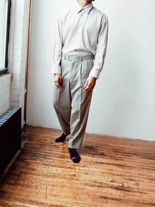 Deadstock Pleat-front Trousers