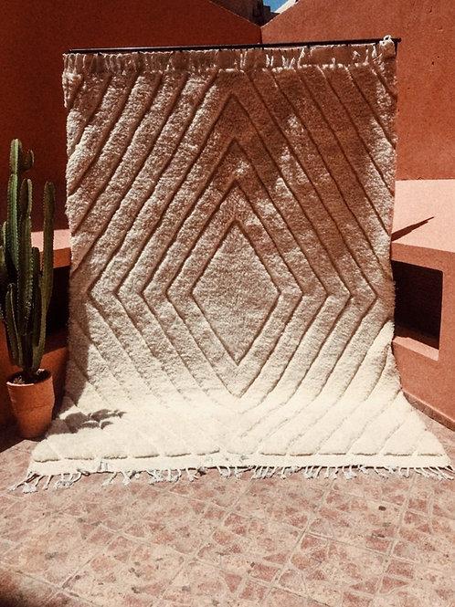 Moroccan Beni Ourain - Diamond Carpet
