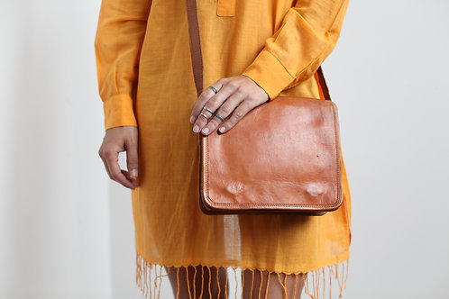 Leather Indian Satchel