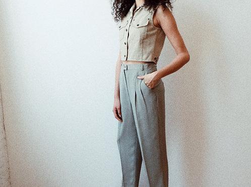 Silk Sage Trousers