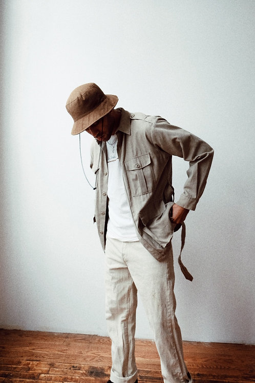 Cotton Safari Jacket