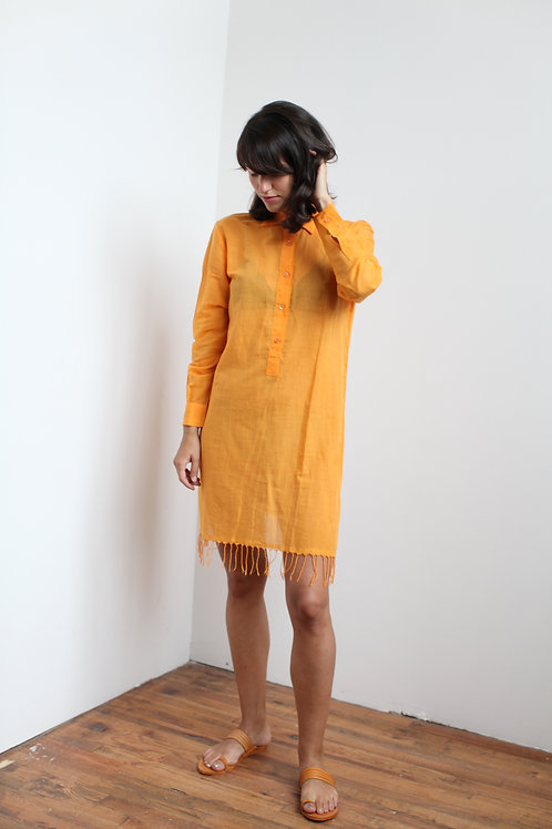 Marigold Cotton Dress