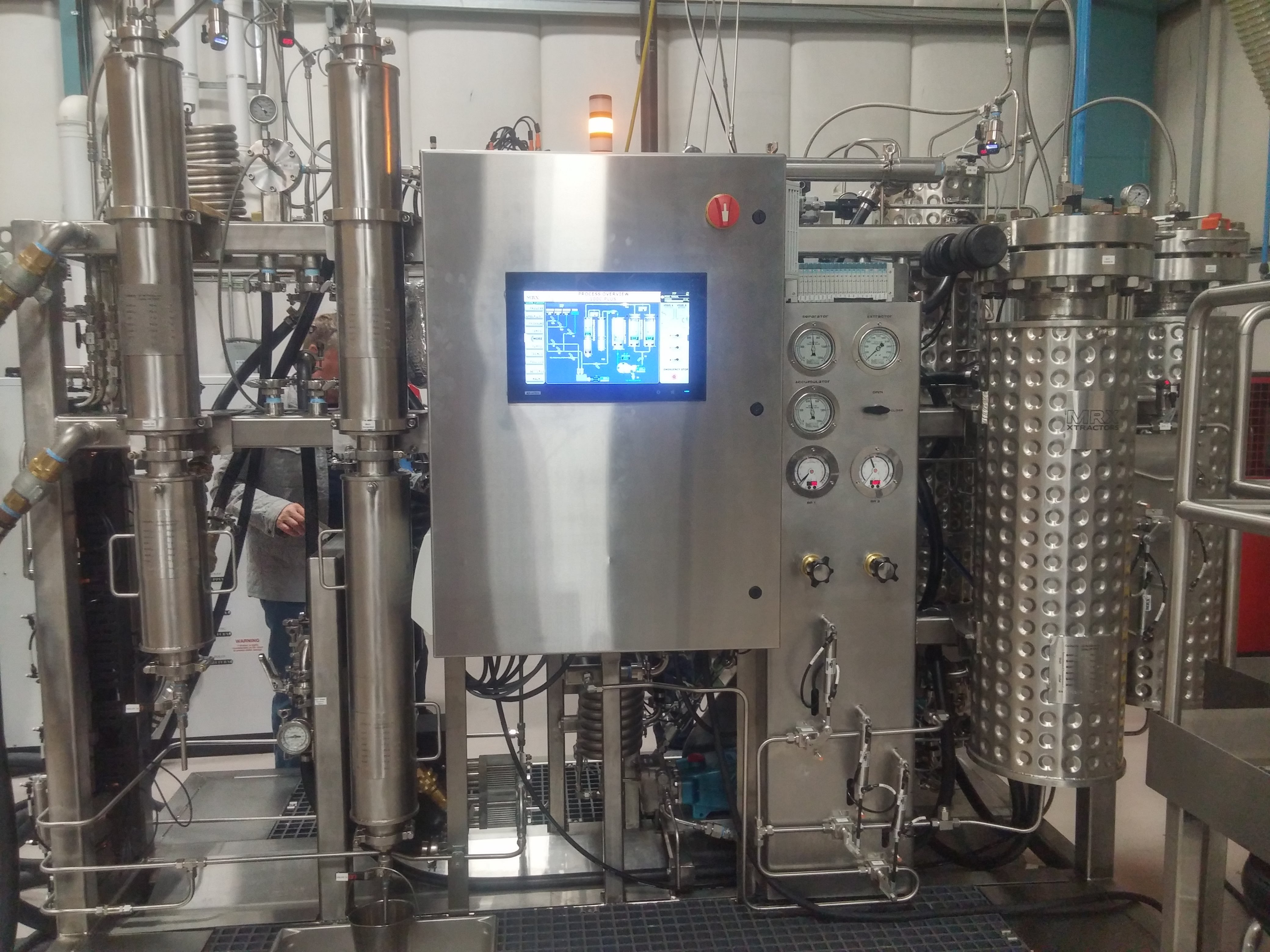 MRX CO2 and Ethanol Extractors avialable