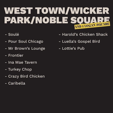 West town/ Wicker Park/ Noble Square