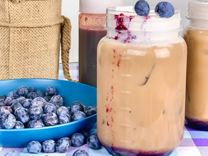 Blueberry Iced Coffee
