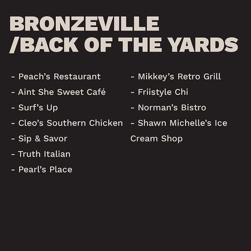 Bronzeville/ Back Of The Yards