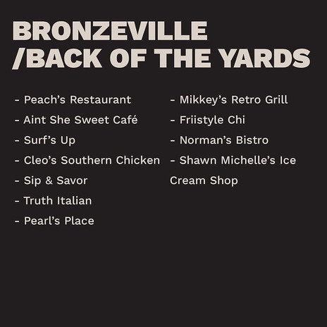 Bronzeville/ Back Of The Yards