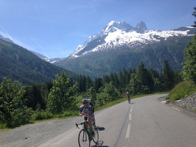 Chamonix-Nice Cycle Trip