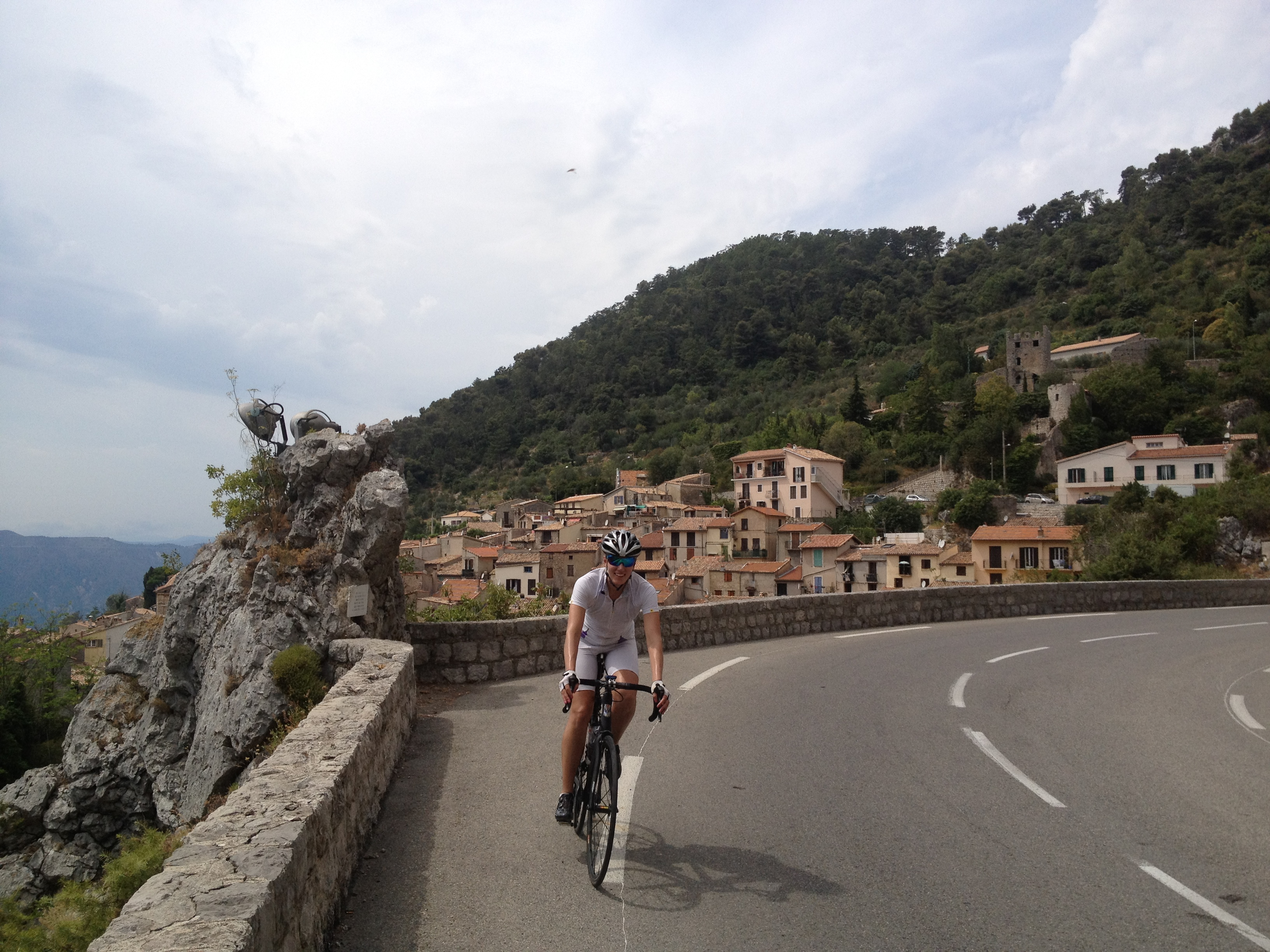 Cycling the South of France