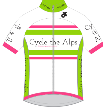 Cycle the Alps tech Jersey