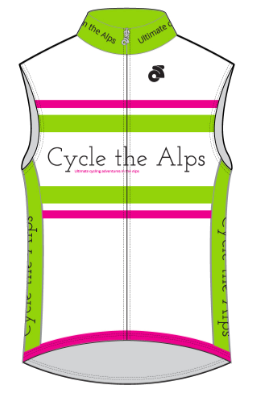 Cycle the Alps Sleeveless Jersey