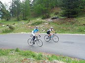 cycling tours in the French Alps