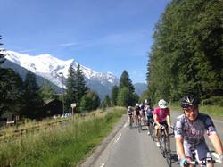 Chamonix-Nice Cycle Trip