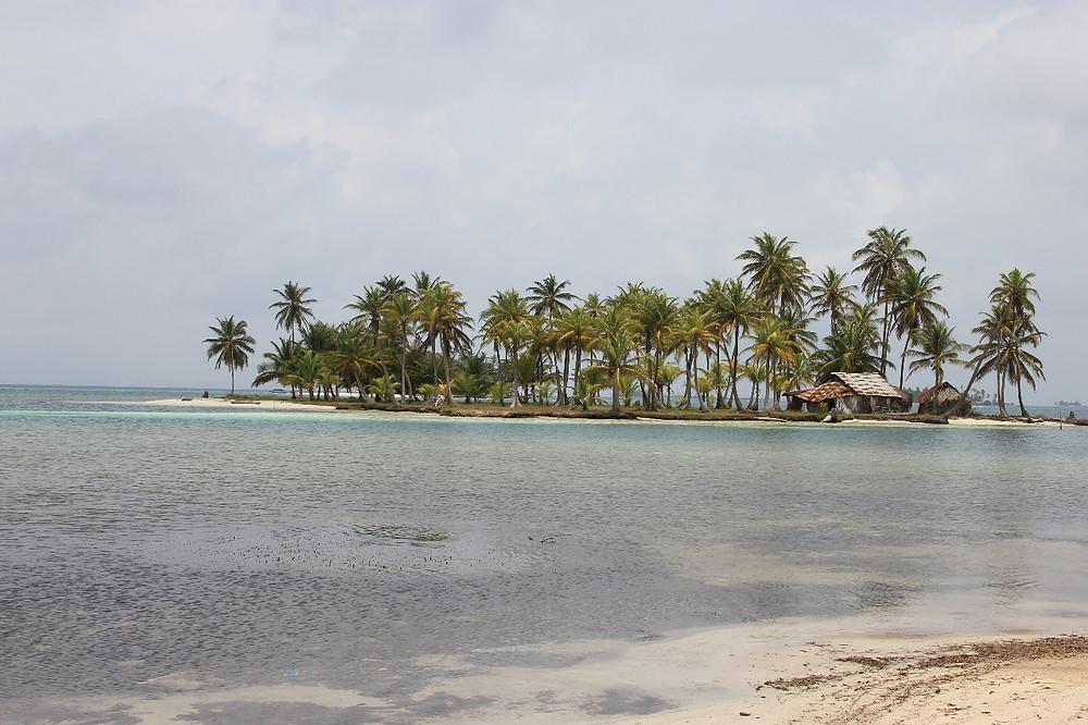 Ilha em San Blas