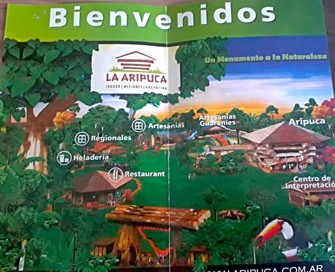 Mapa La Aripuca