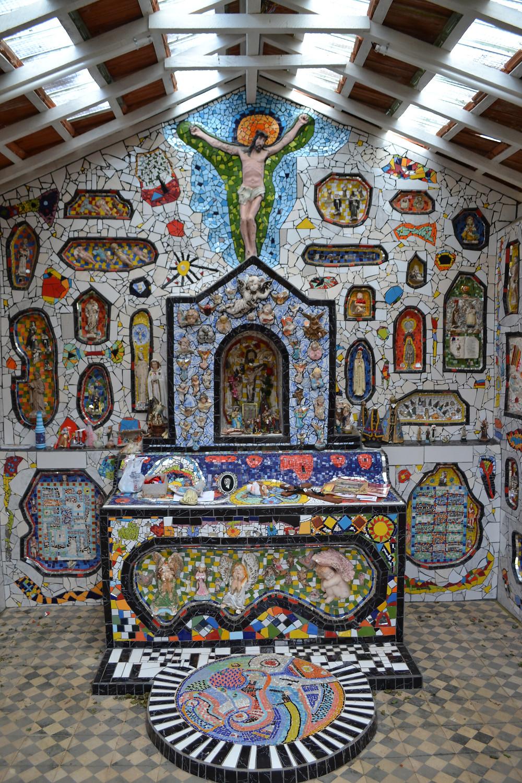 Capela de Mosaico - Parte interna