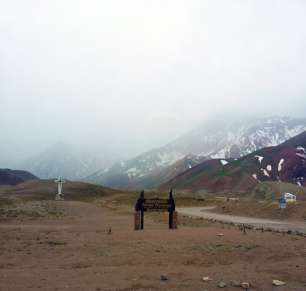 Entrada Parque Provincial Aconcagua