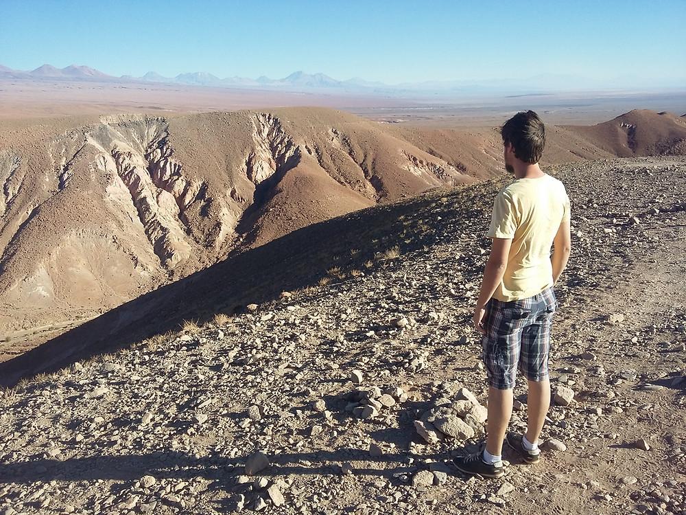 Cânion no caminho para Atacama