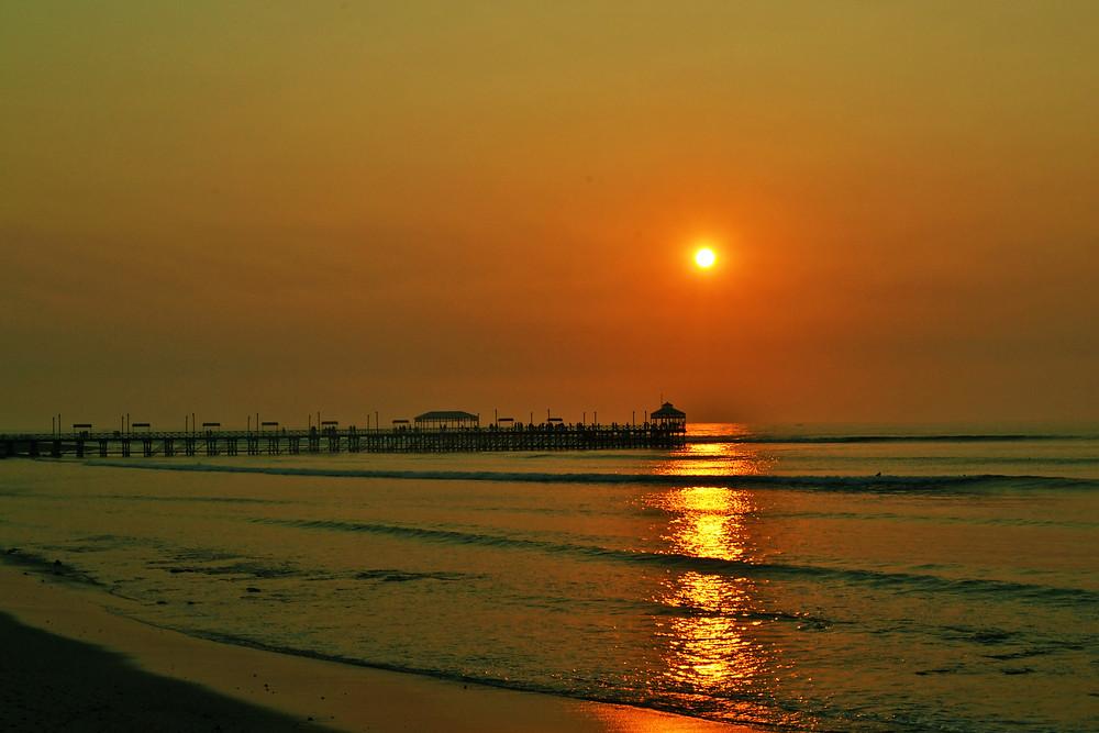 Huanchaco - Por do sol