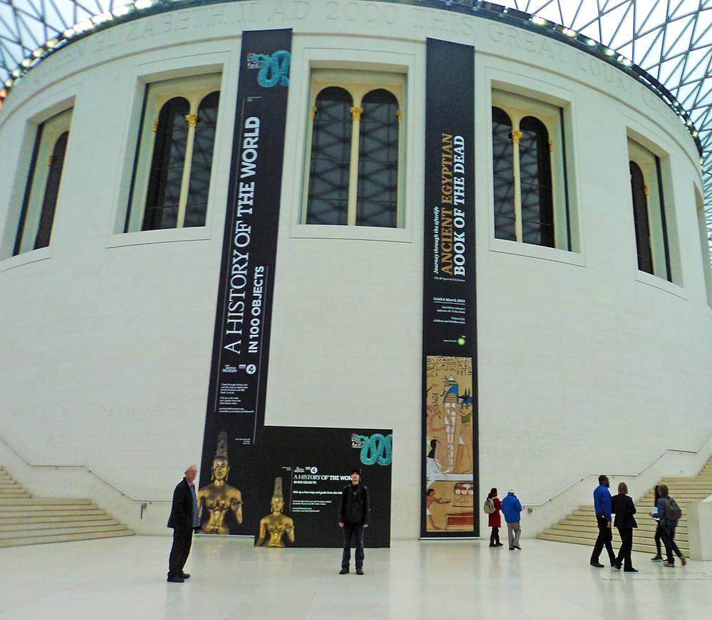 Entrada do Museu Britânico