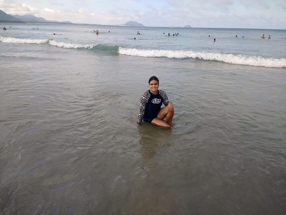 Ana e o mar