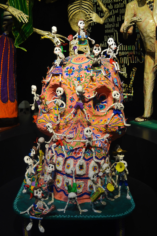 Escultura caveira mexicana