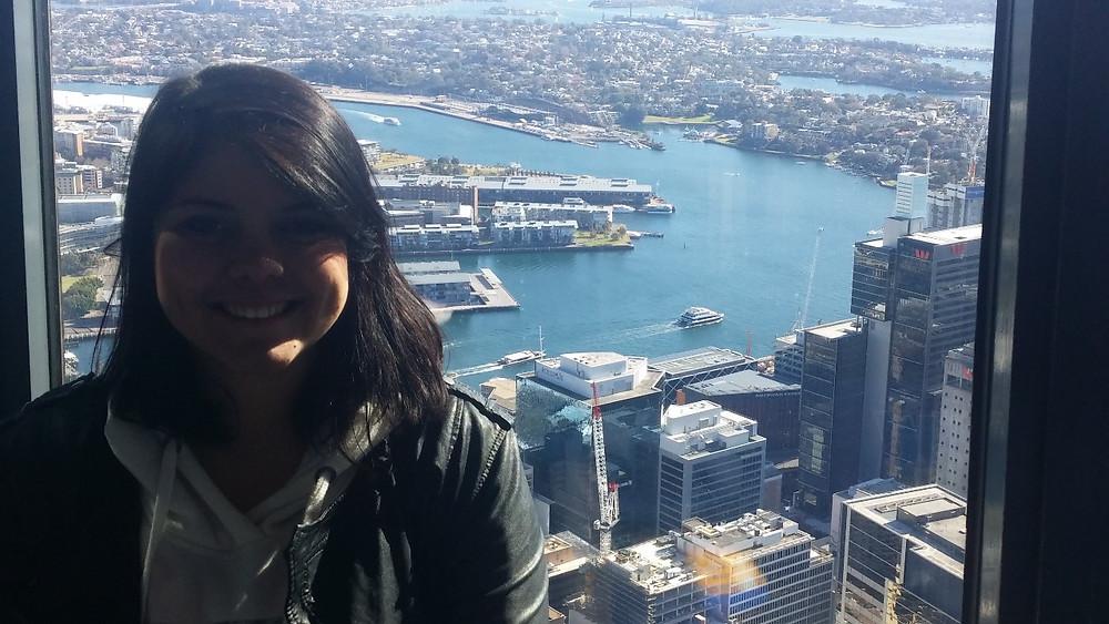 Tatiane em Sidney