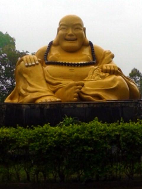Estátua de Buda gordo