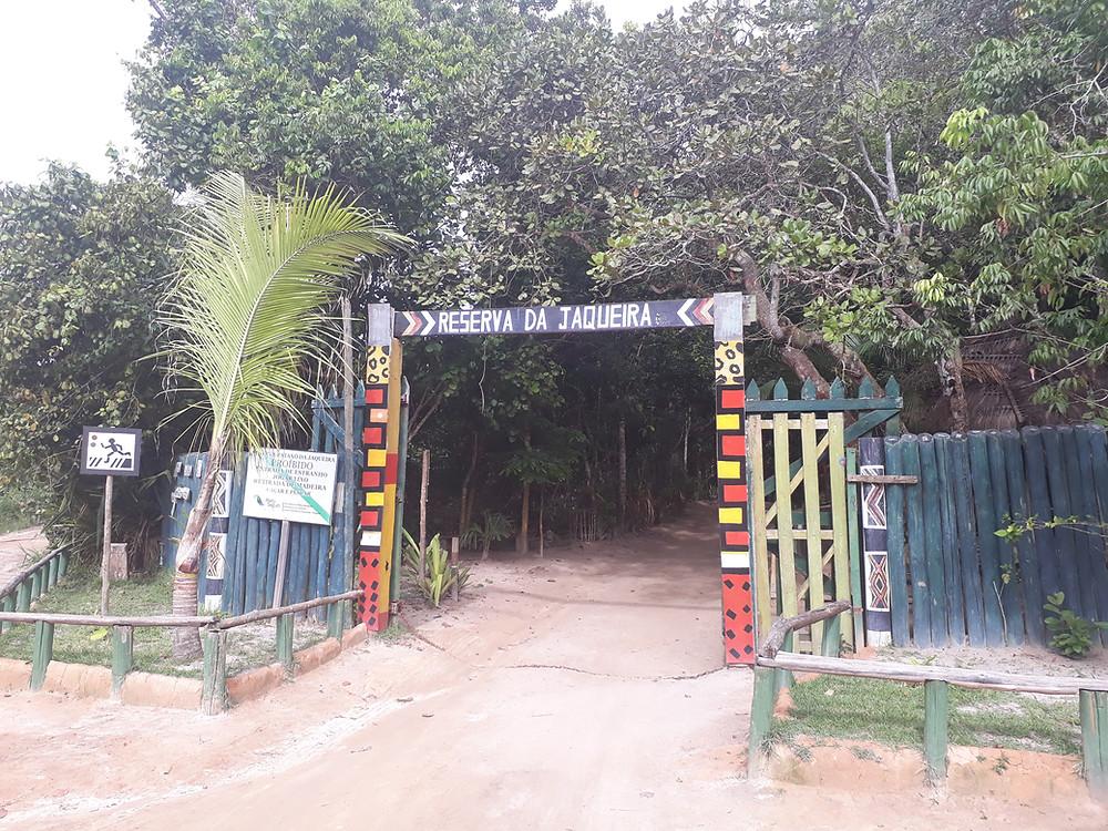 Entrada Reserva da Jaqueira